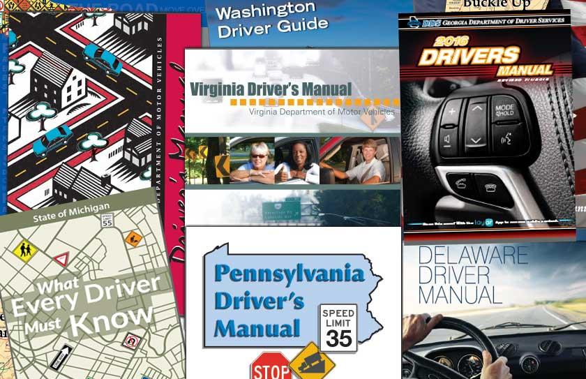 study the driver handbook