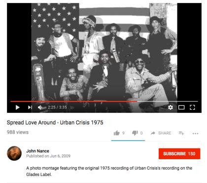 Urban Crisis – Spread Love Around (Video)