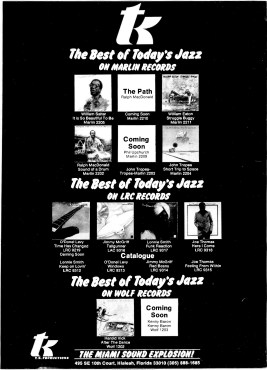 Marlin Records – The Best of Today's Jazz – Cash Box (1977)