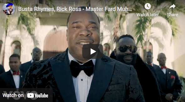 """Featured Sample: Busta Rhymes feat. Rick Ross Master – """"Fard Muhammad"""""""