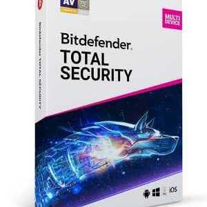 Licenta Antivirus Bitdefender Total security 2021