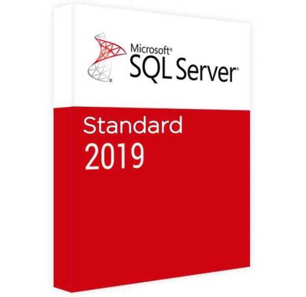 server mysql 2019 standard