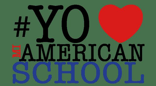 logo yo amo mi american school