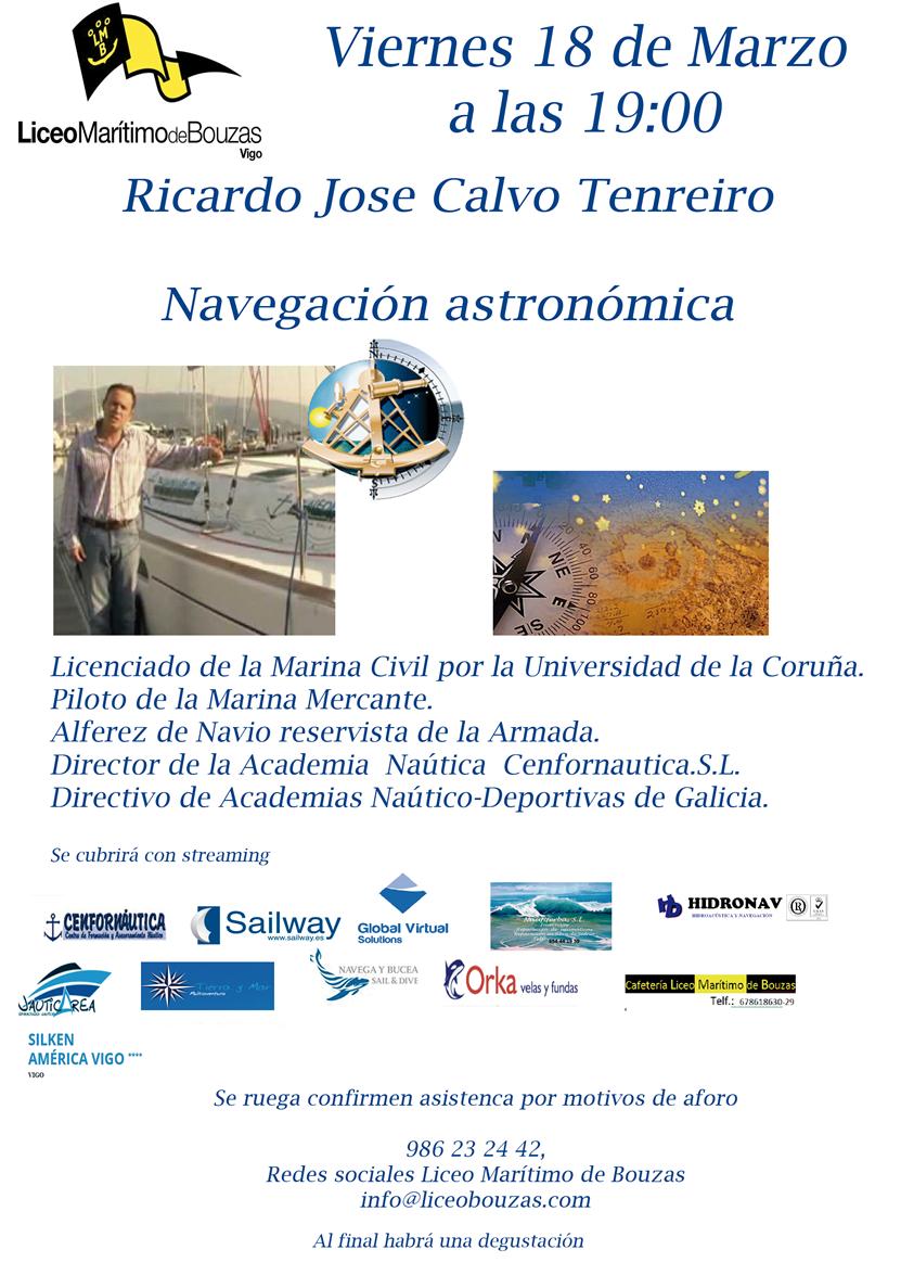 18 MAR Charla Navegación Astronómica