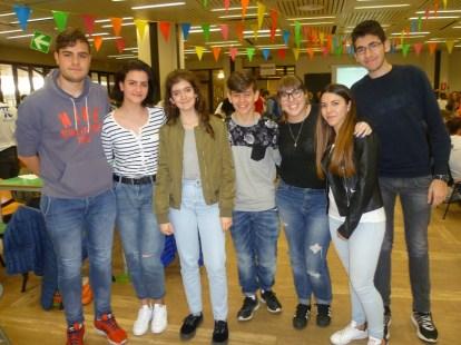 Lorenzo Tiseni (3C), Elena Rocchetti (VB), Barbara Chemi (VB), Alessio Capitanelli (VB), Diletta Diomedi (VB), Beatrice Ciarrocchi (VB), Francesco Celino (3C)