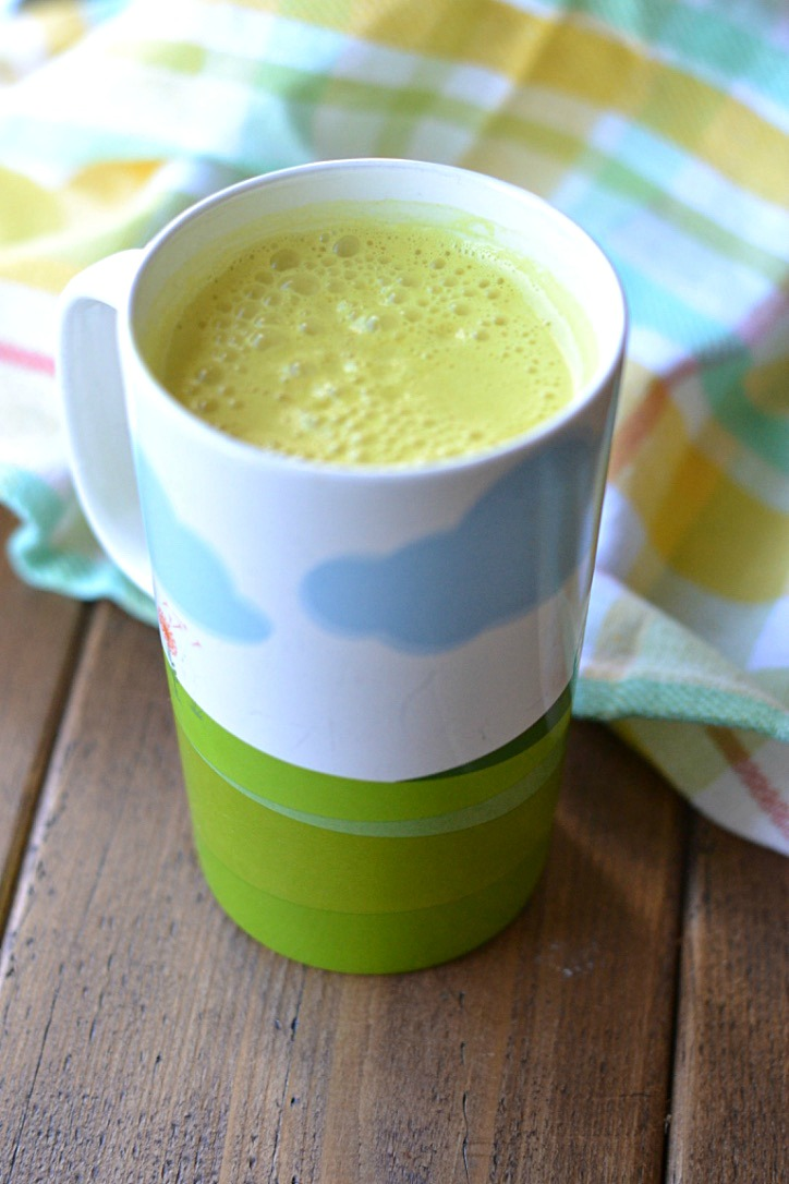 Sunny Healing Latte (AIP/Paleo/Refined Sugar-Free)