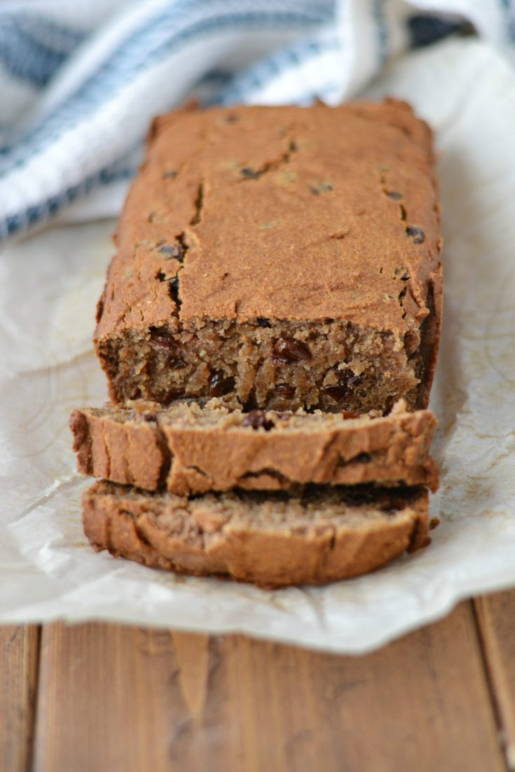 Raisin Cake (AIP/Paleo/Refined Sugar-Free)