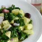 Greek Kale Salad (AIP/ Paleo/ Refined Sugar-Free)