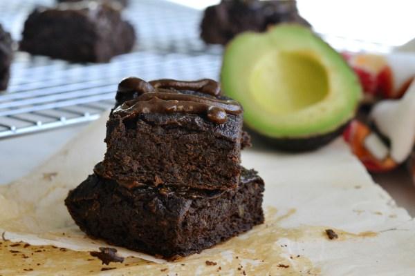 Fudgy Avocado Collagen Brownies