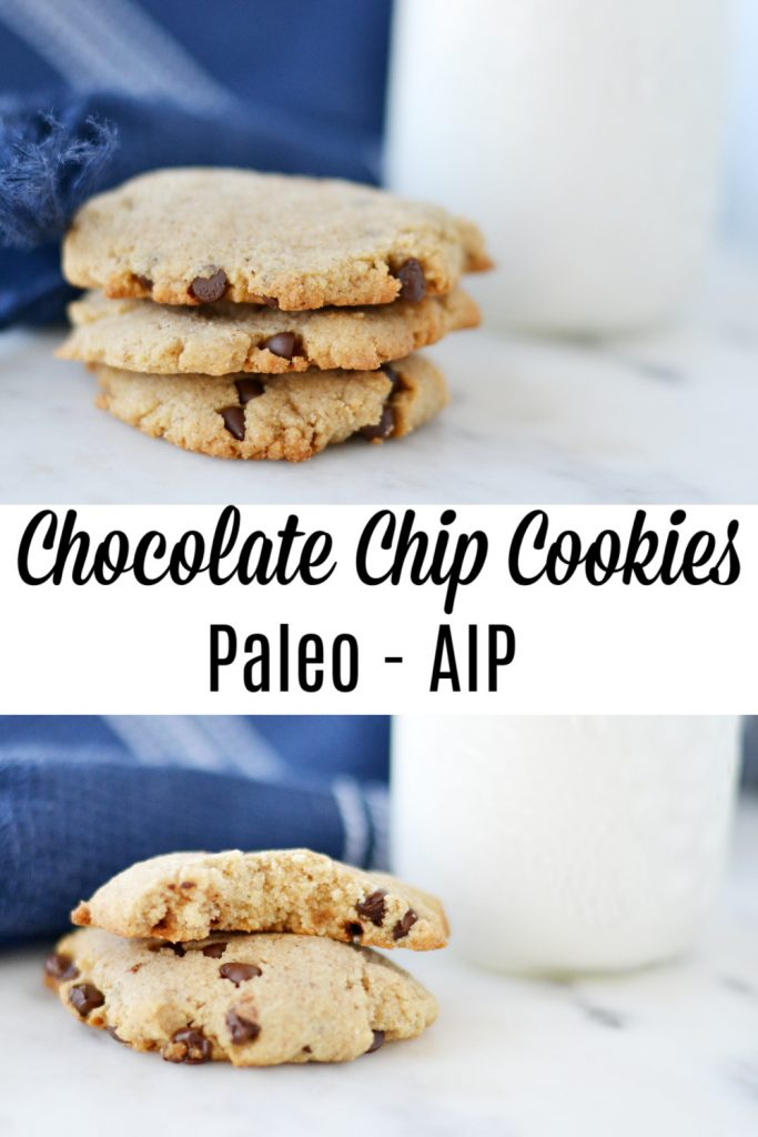 Paleo Chocolate Chip Cookies (AIP/Paleo)
