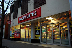 The Woolworths store in Lichfield. Pic: Rachel Groves