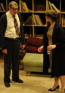 Matthew Kelly and Tracey Childs in Who's Afraid of Virginia Woolf?
