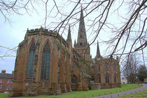 Lichfield Cathedral. Pic: James Stringer