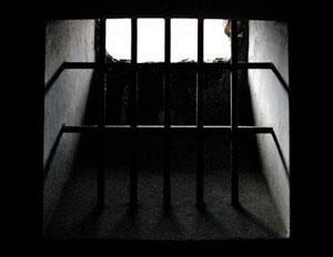 Prison bars. Pic: Jelle Vancoppenolle