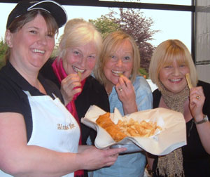 Supporters gear up for Lichfield Mysteries fish and chip supper fundraiser