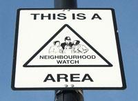 A Neighbourhood Watch sign