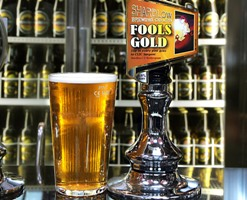 The charity Fools Gold beer