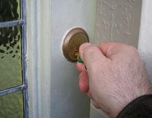 Front door key. Pic: Simon James