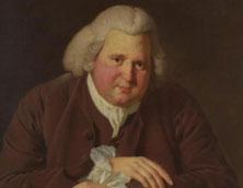 Jospeh Wright's painting of Erasmus Darwin. Pic: Sotheby's