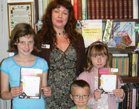 Charlotte Hamby, Samuel Johnson, Mollie Johnson and Carole Collier
