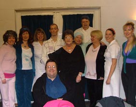 Members of the Fradley Players