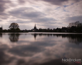 Stowe Pool. Pic: Nick Brickett