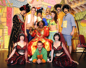 The cast of Aladdin