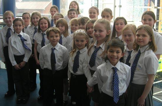 Whittington Primary School Choir