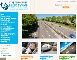 The Staffordshire Safer Roads Partnership website