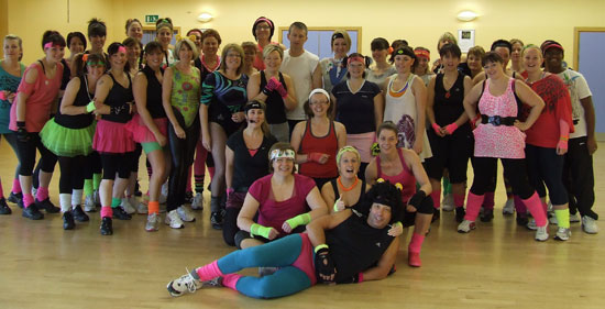 Burntwood Leisure Centre staff and users