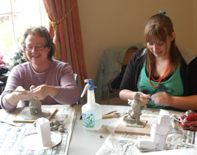 Local residents taking part in the workshop