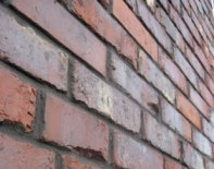The bricks used on Darwin Hall. Pic: Bryant Priest Newman Architects
