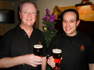 Chris and Nick from Shenstone Brew Co.