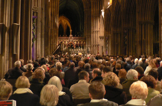 The Salvation Army concert at Lichfield Cathedral in 2008