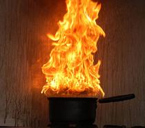 Chip pan fire 210