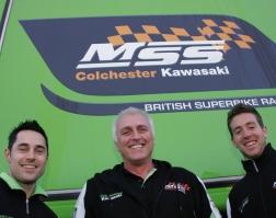 Gary Mason, Nick Morgan and Simon Andrews