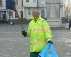 Lichfield District Council worker Robin McGimpsey