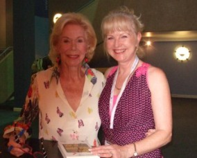 Marion Parry and Louise Hay