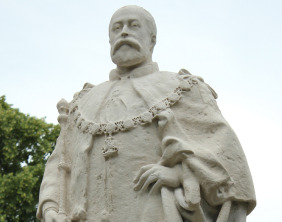 The King Edward VII statue