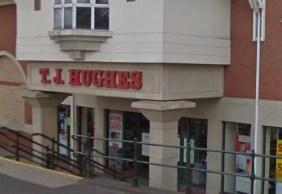 TJ Hughes store in Lichfield