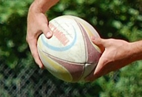 Rugby ball. Pic: OnTask