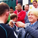 Michael Fabricant MP presents medals to the winners