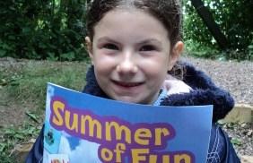 Georgia Wilson with the Summer of Fun programme