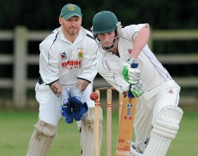 Stuart Fielding batting for Lichfield. Pic: Nigel Parker/format94