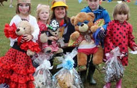 Winners at the Beacon Park fun day teddy competition