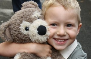 The teddy bear event at Busy Bees Nursery
