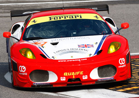 The CRS Racing car