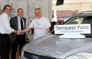 Tempest Ford supporting the We Love Lichfield Fund