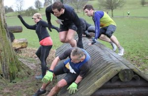 Runners taking on the Xtreme 10K Challenge course