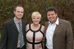 Crissy Rock with Matt Burnell and Barrie Semp of The Smile Centre